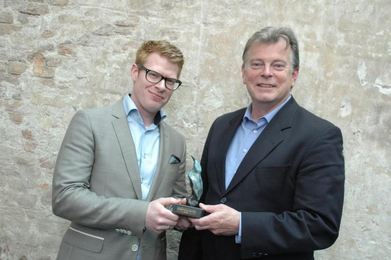 Remco de Vos van BMW Nederland en Peter Brouwer van AM
