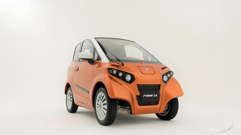 Automobielmanagement Nl Ev Nieuws S Werelds Kleinste 4 Zits Batterij Elektrische Auto