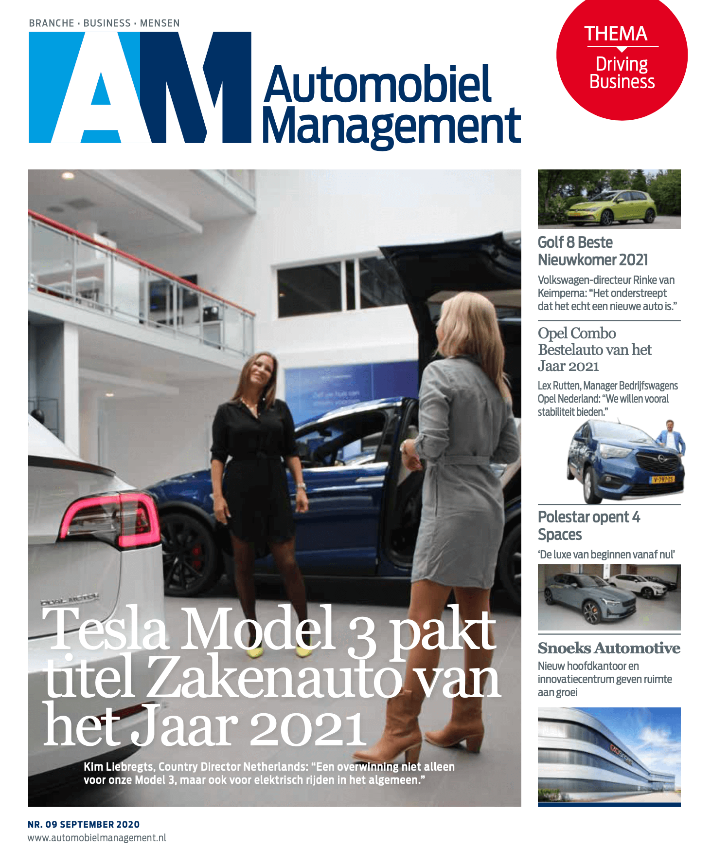 Automobiel Management Thema Driving Business september 2020